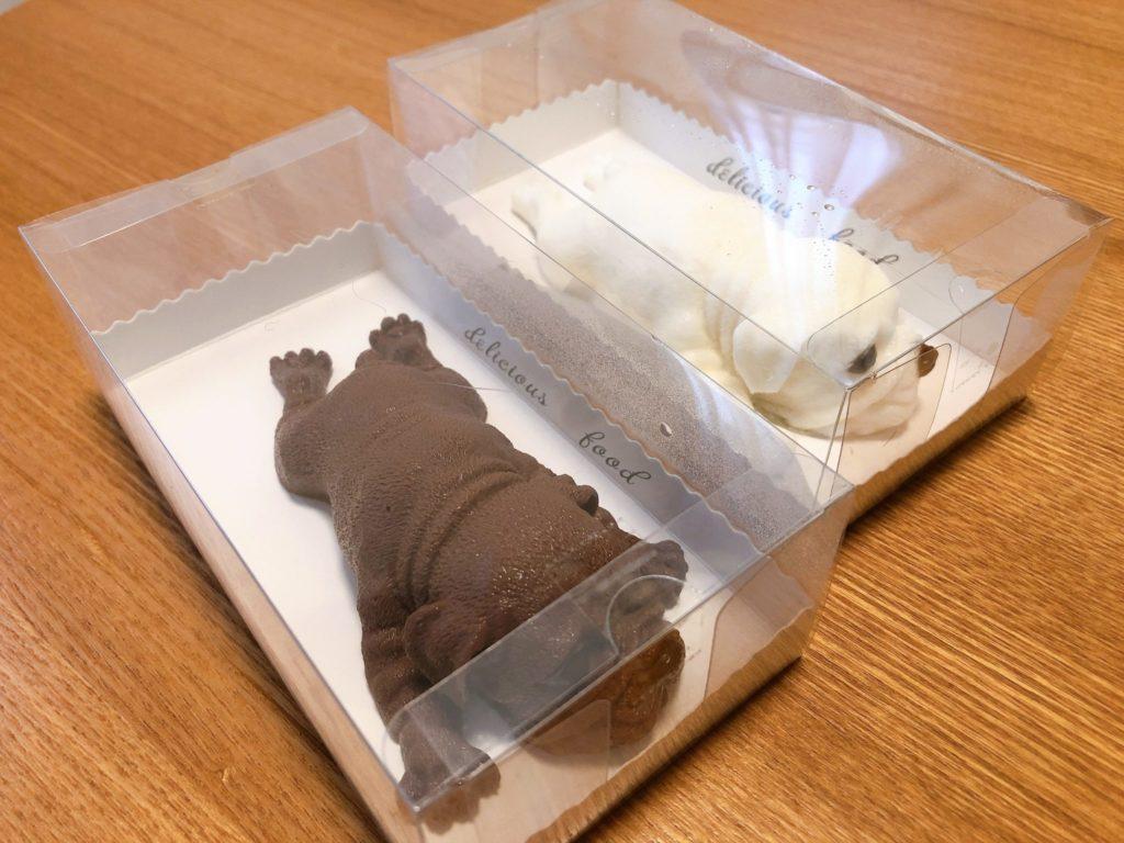 豪徳寺のタピオカ屋クラウドのシャーペイケーキは箱入り