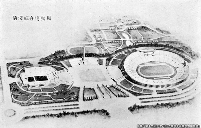 世田谷にある駒沢公園はオリンピックの会場