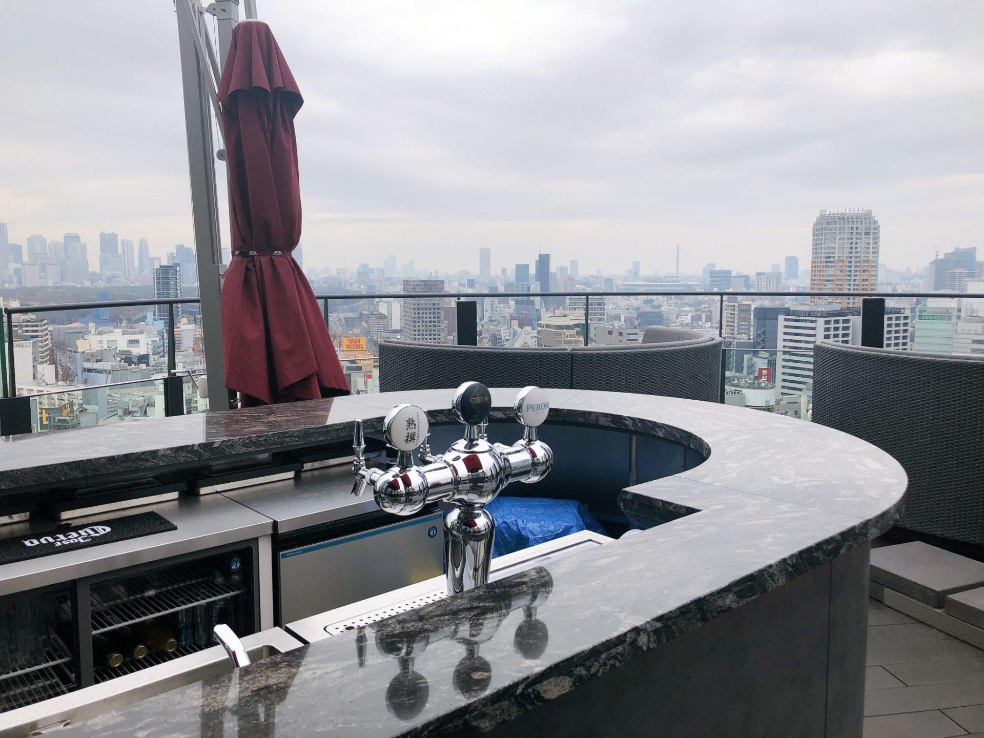 CE LA VI TOKYO(セラヴィ 東京)のテラス席