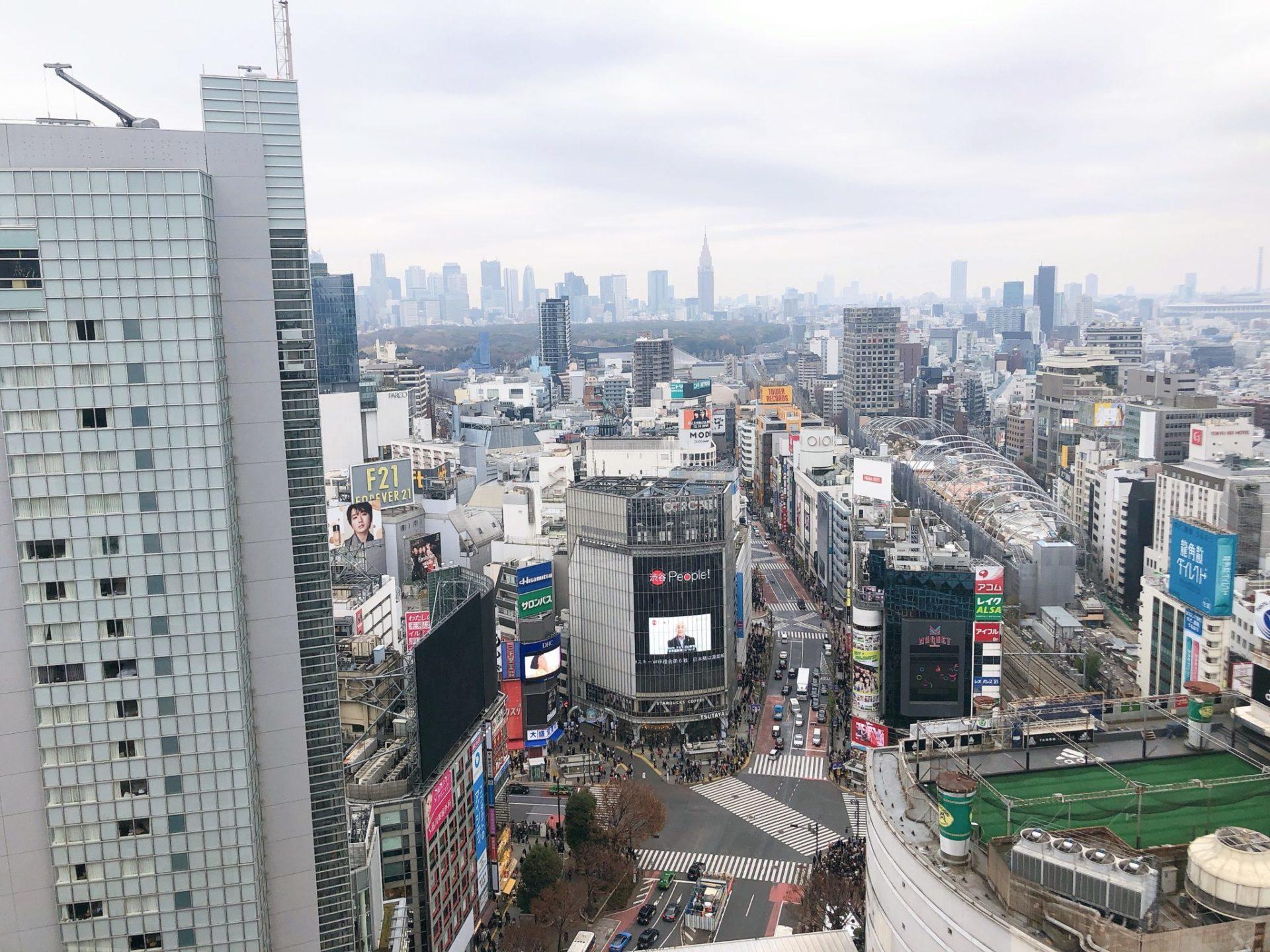 CE LA VI TOKYO(セラヴィ 東京)からの眺め