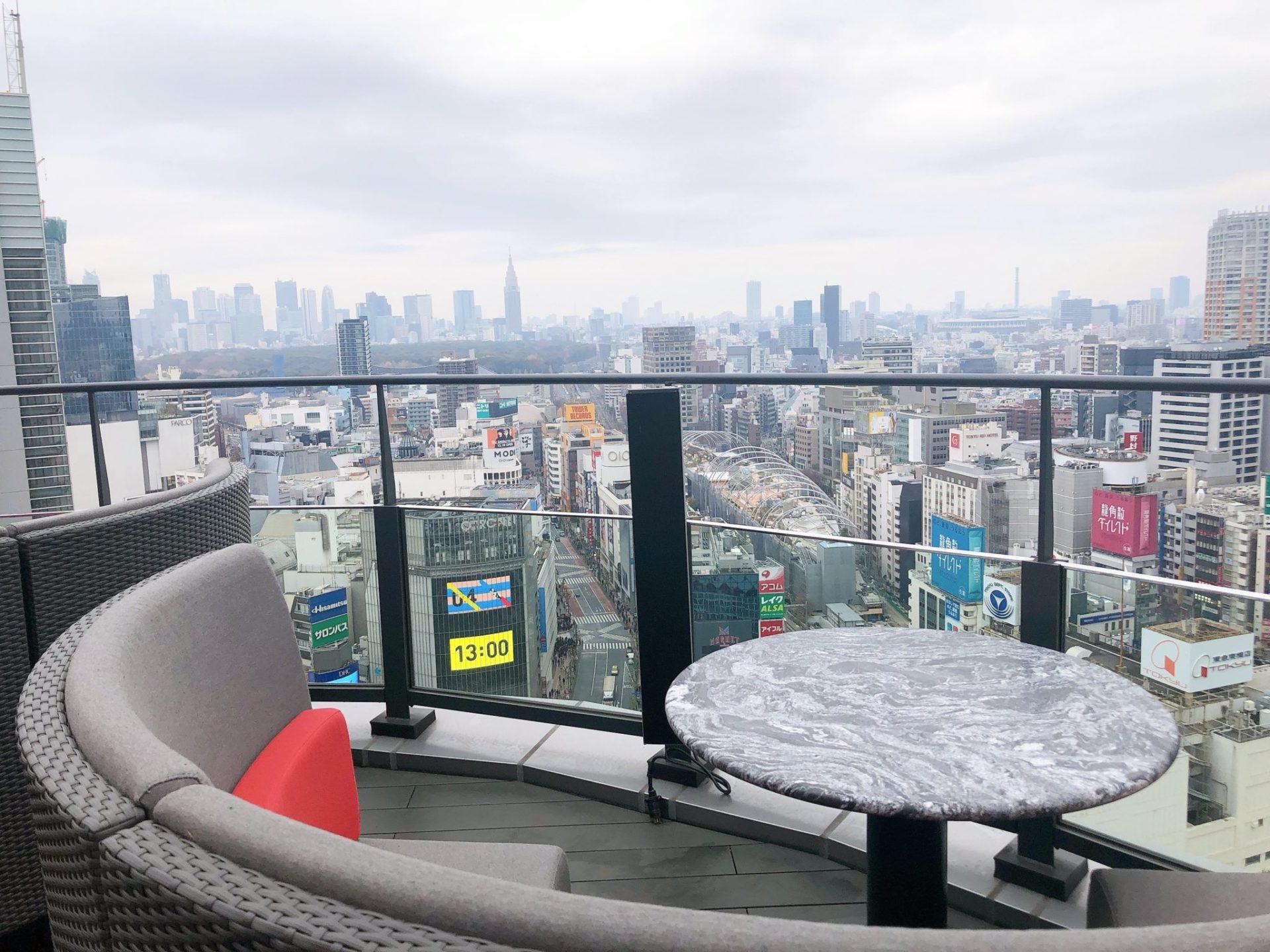 CE LA VI TOKYO(セラヴィ 東京)のテラスボックス席