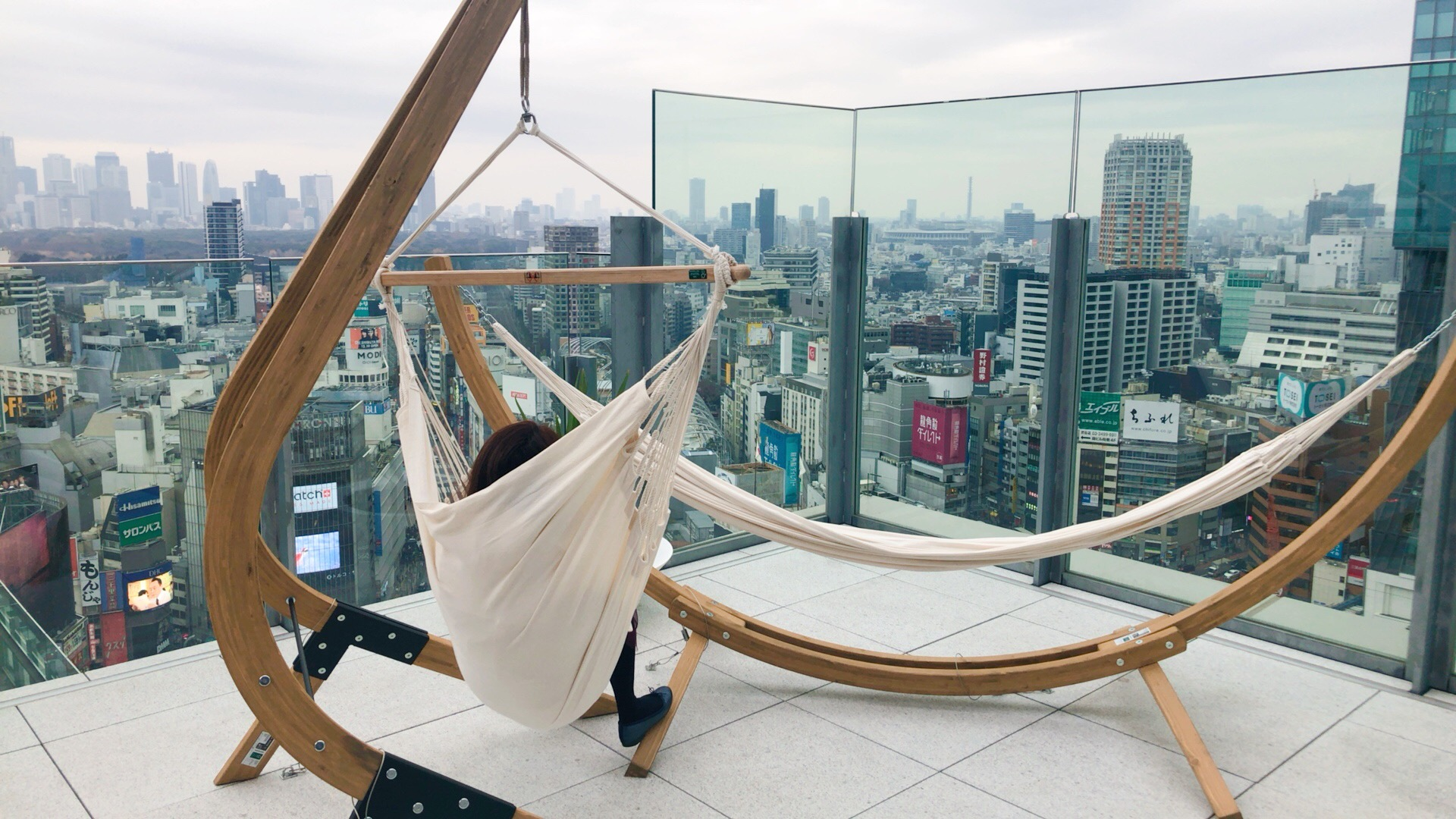 CE LA VI TOKYO(セラヴィ 東京)のハンモック