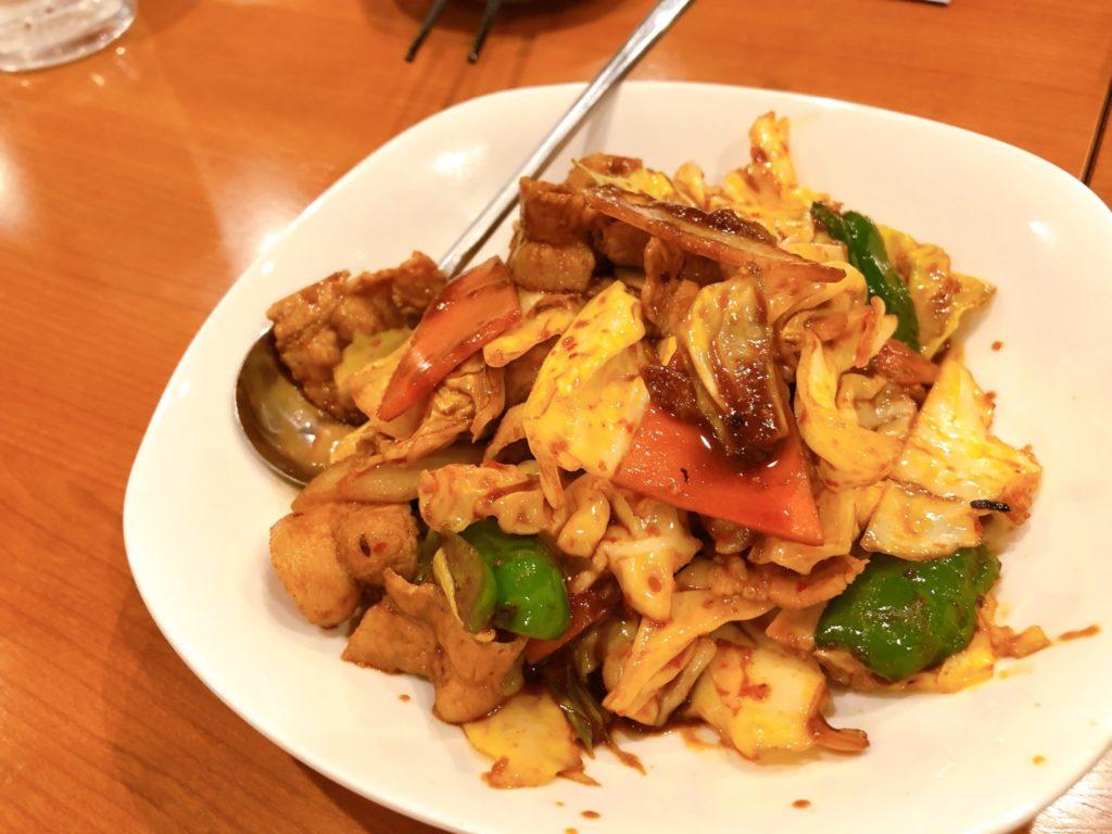 郷味(さとみ)豪徳寺店の回鍋肉