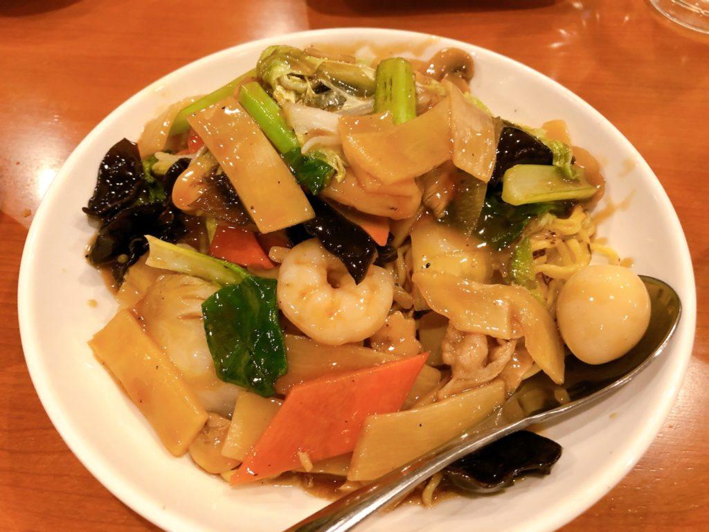 郷味(さとみ)豪徳寺店の八宝菜