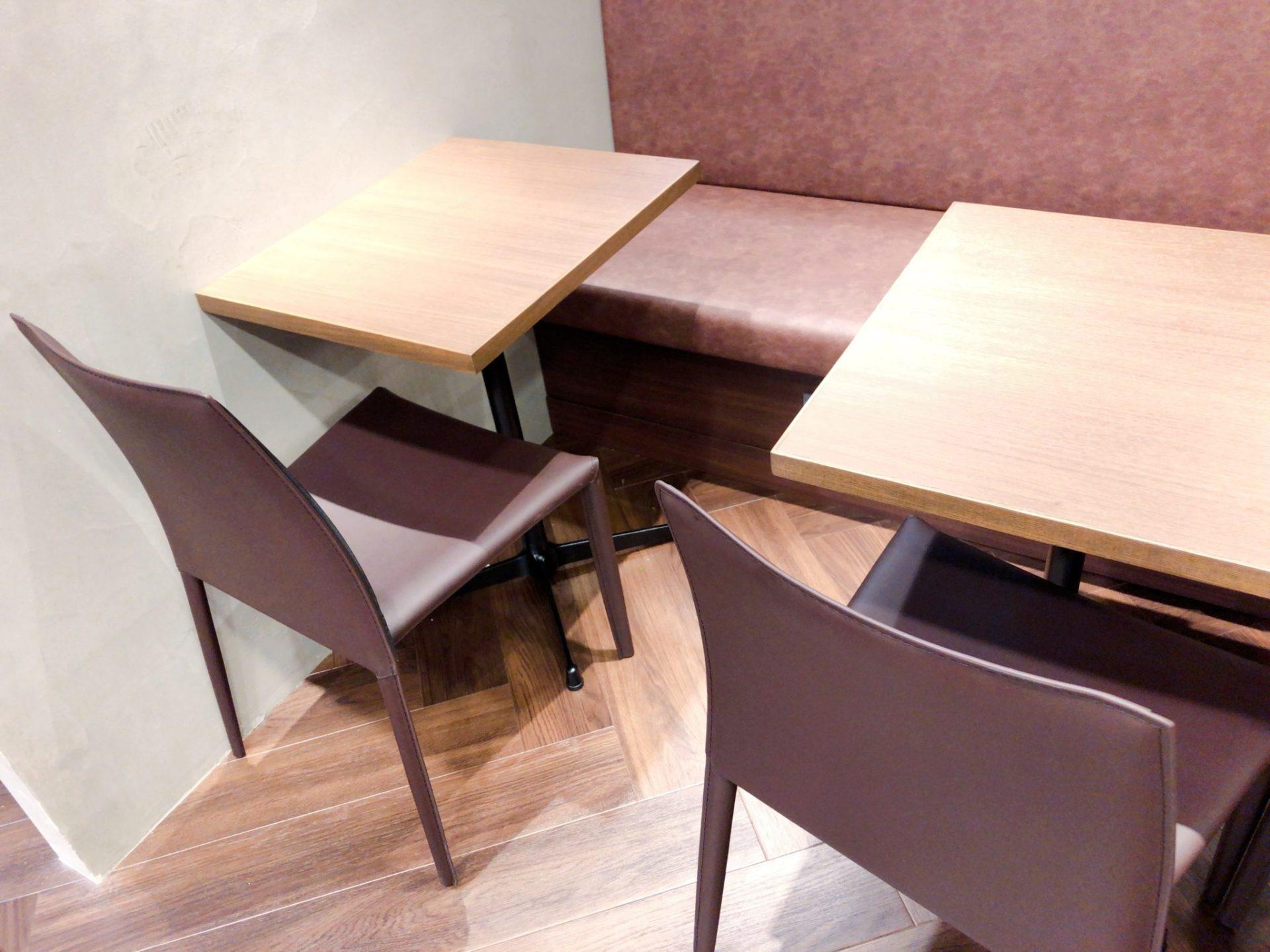 メゾン・イチ経堂店のカフェスペース
