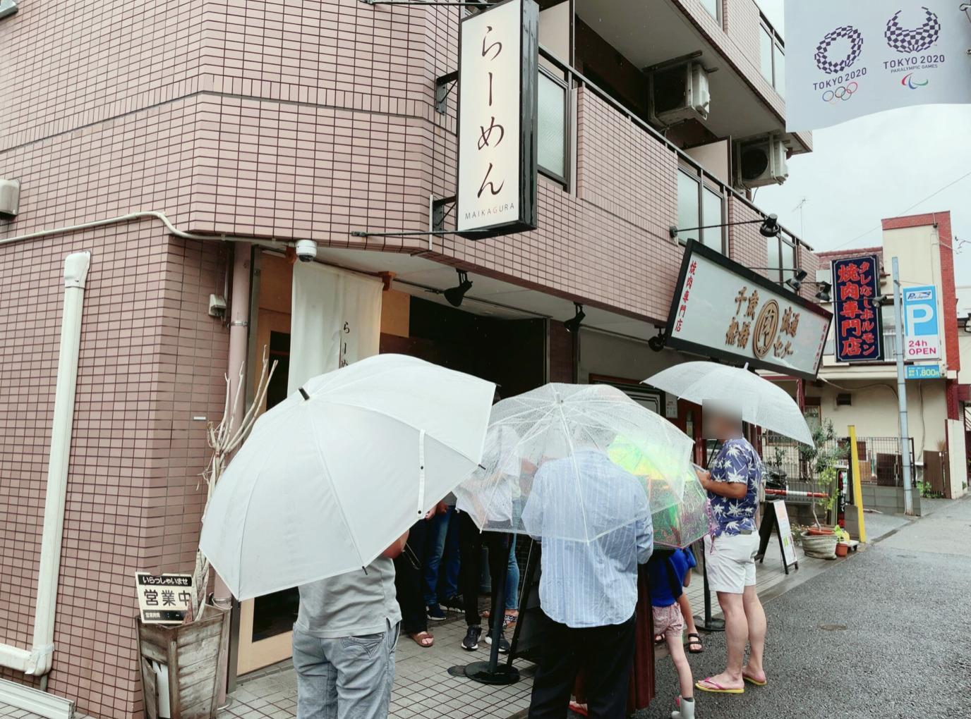 らーめんMAIKAGURA(まいかぐら)の混雑状況・行列