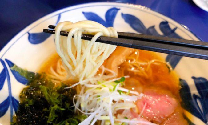 梅ヶ丘の支那そばや 世田谷磯野の細麺