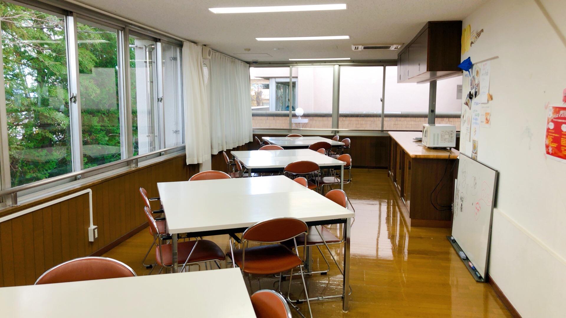 野毛青少年交流センターの食堂