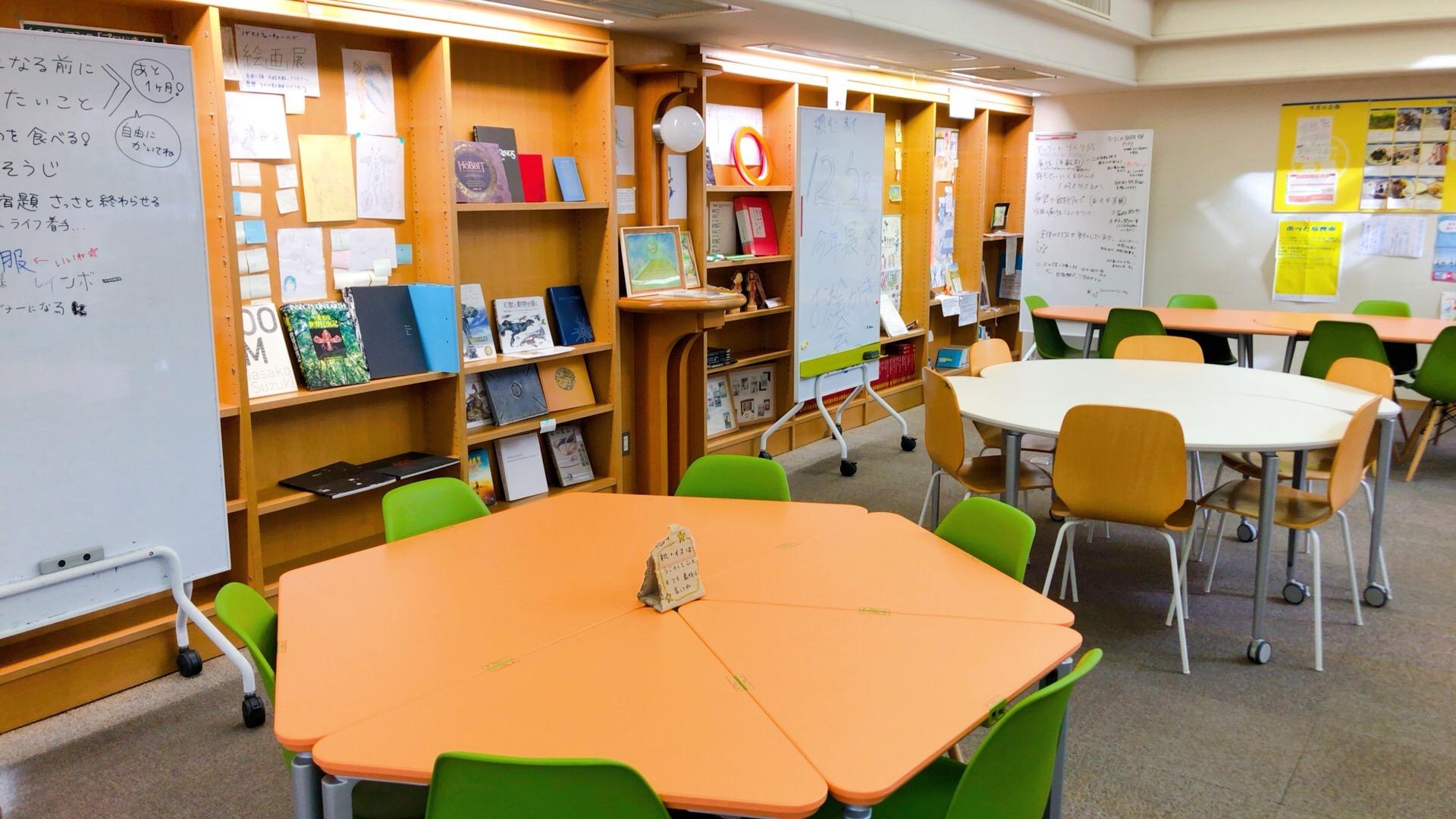 野毛青少年交流センターのテーブル月1会議