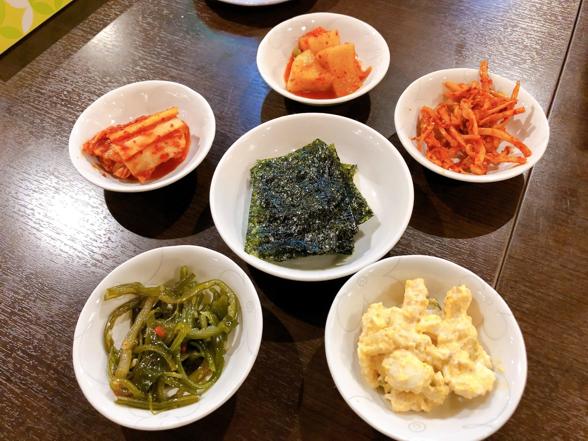 新大久保の韓国料理屋 美名家(ミナヤ)のパンジャン