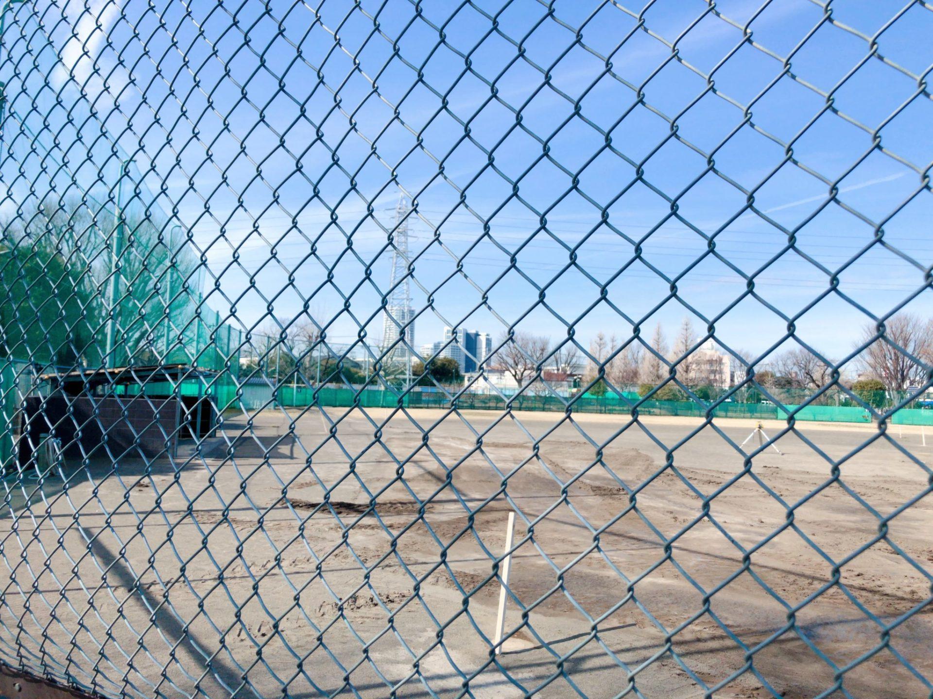 玉川野毛町公園の野球場