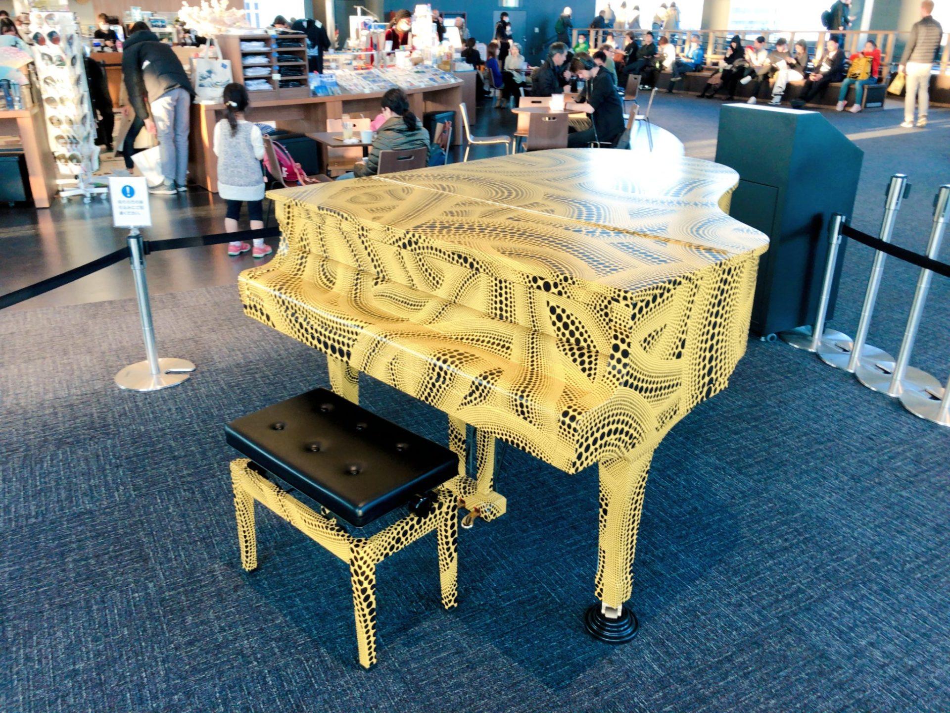 都庁南展望台のおもいでピアノ