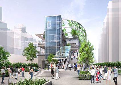 ミヤシタパーク(MIYASHITA PARK)が2020年6月オープン。
