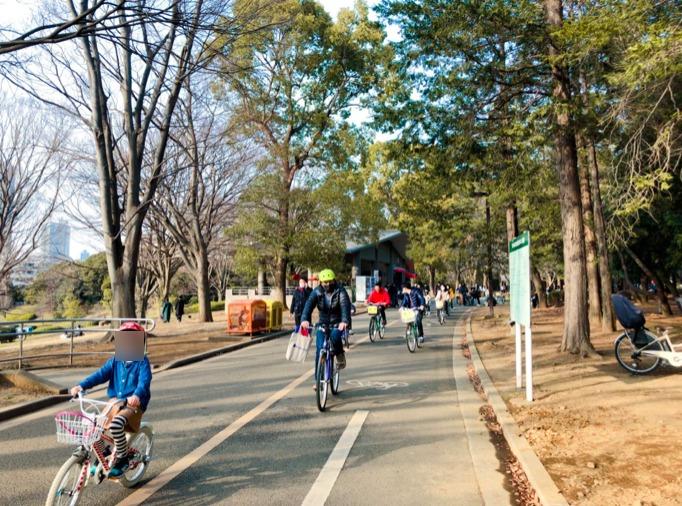 代々木公園のサイクリングコース