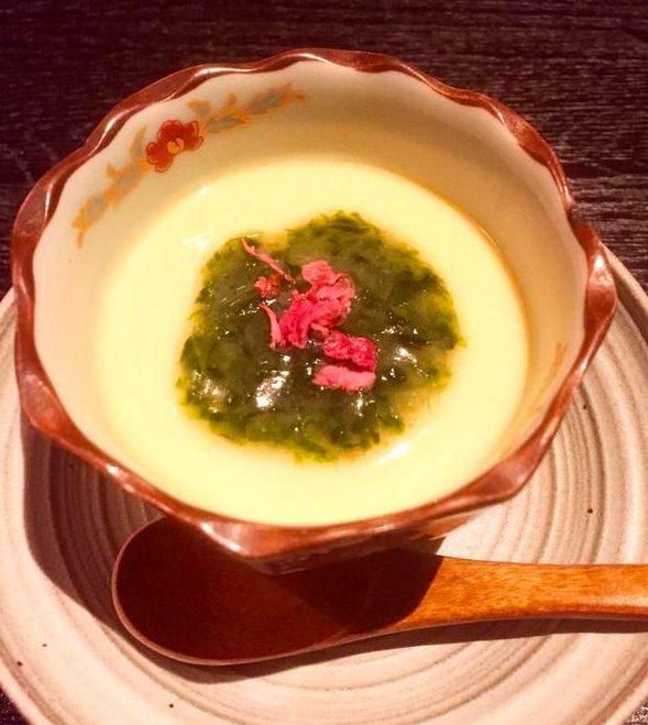 和shoku。の水経堂 の茶碗蒸し