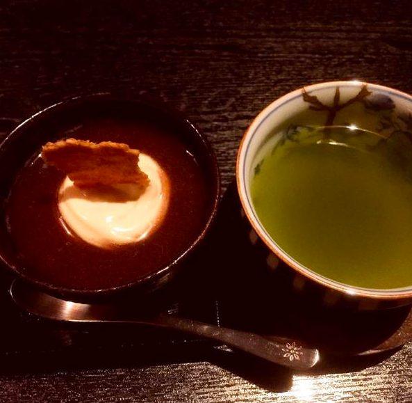 和shoku。の水経堂 の冷やしぜんざい