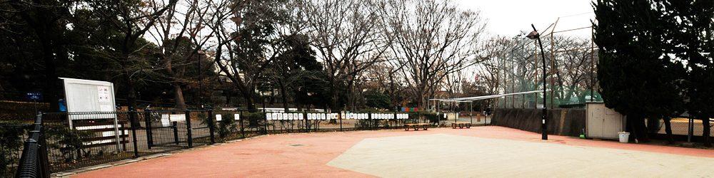 駒沢オリンピック公園のドッグラン