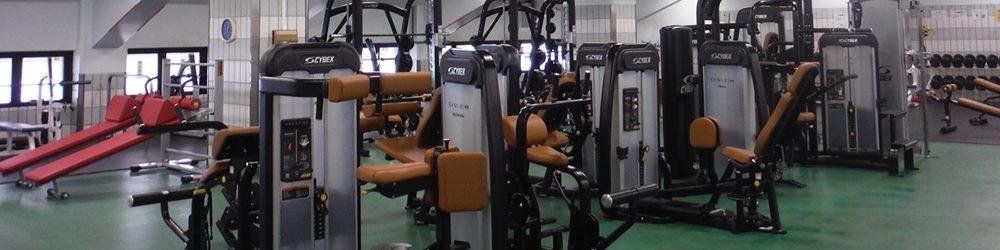 駒沢オリンピック公園のトレーニングルーム