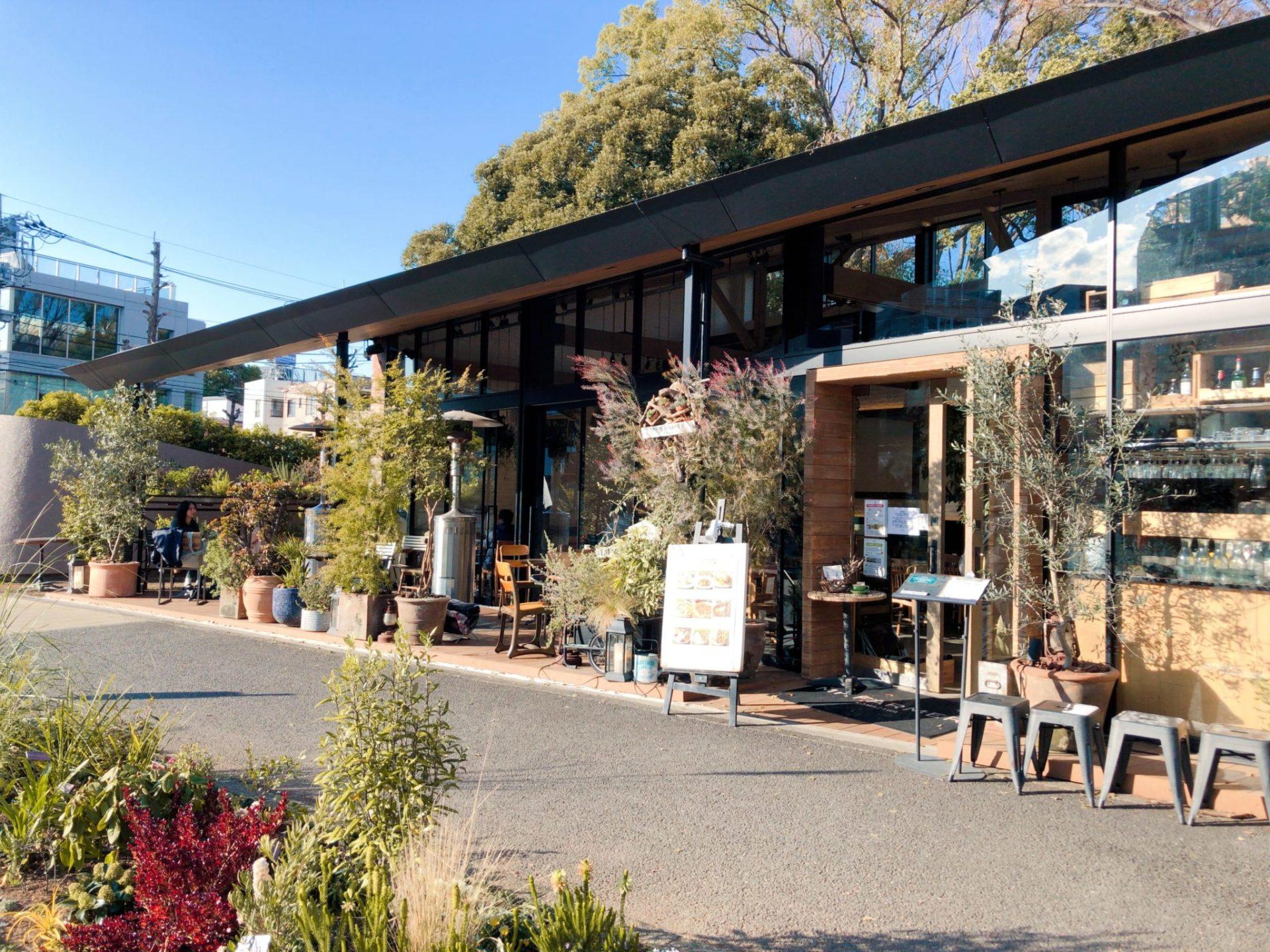 駒沢公園内にあるカフェMr.FARMER