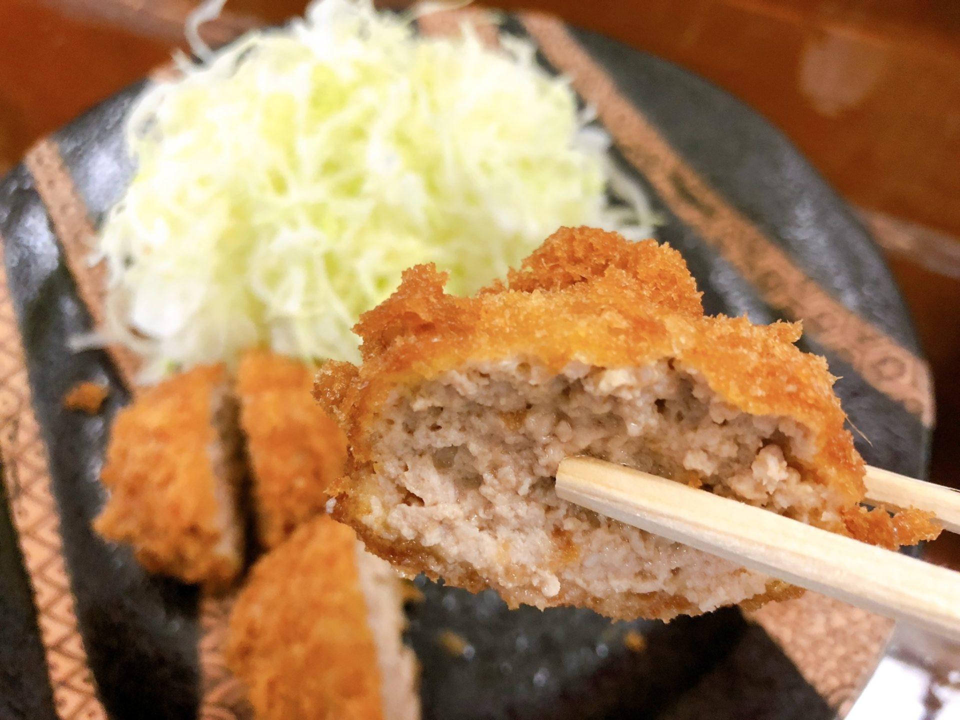 とんかつ椿 成城のまるカツは美味しい