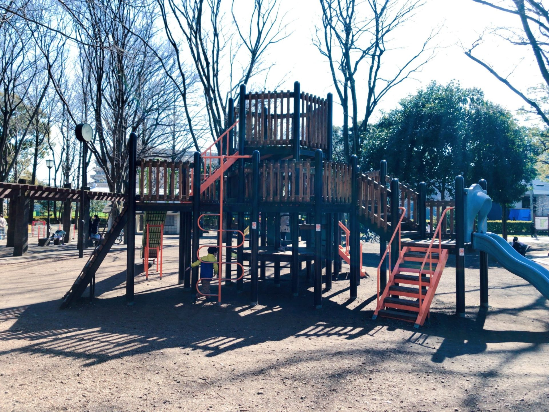 芦花公園(蘆花恒春園)の児童公園