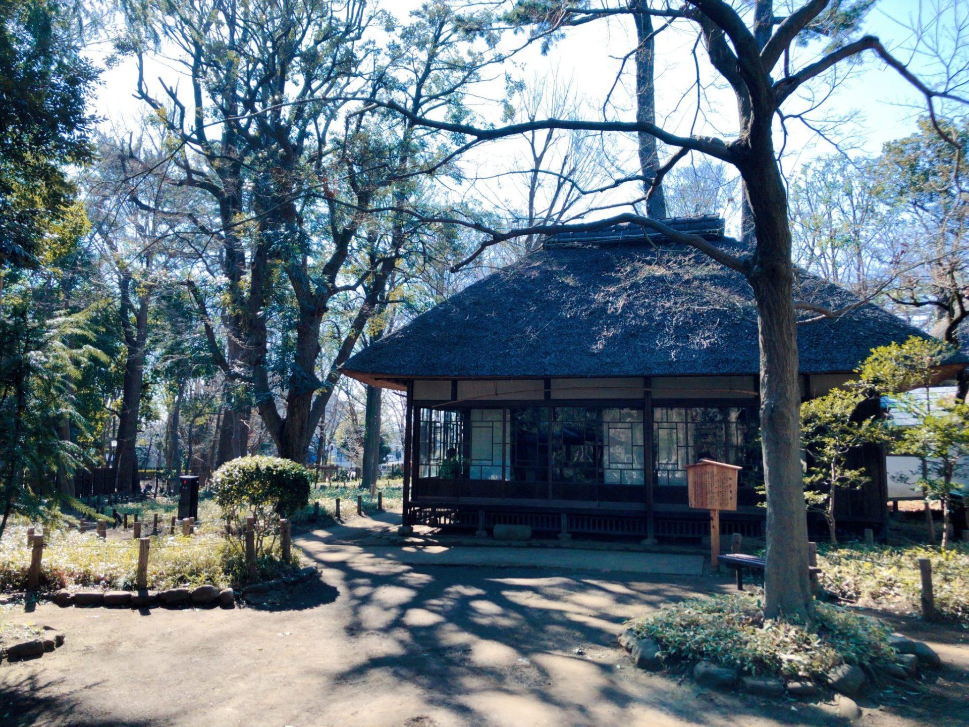 徳冨蘆花記念館の徳冨蘆花の家