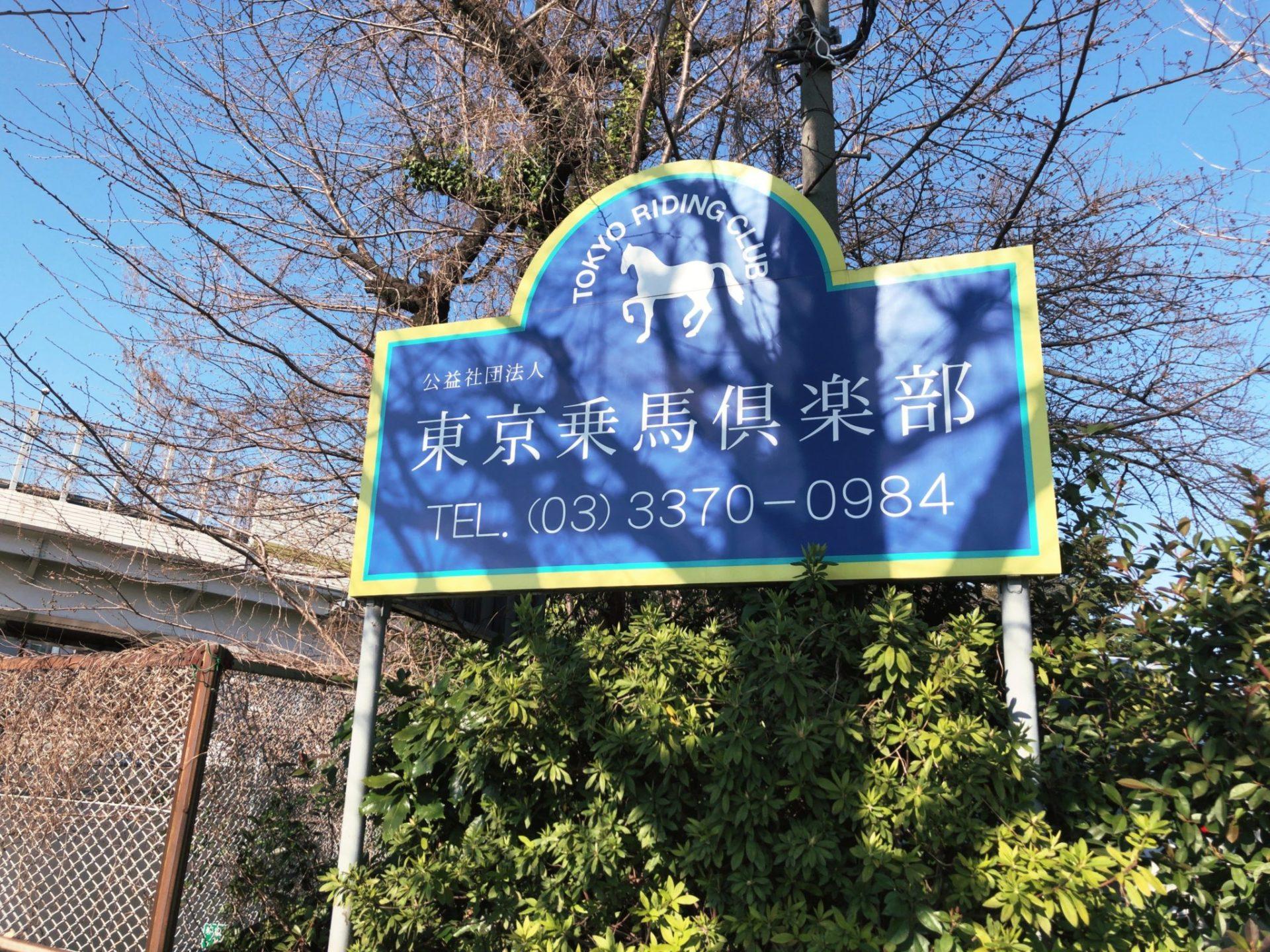 明治神宮前にある東京乗馬クラブ
