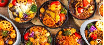 野菜を食べるカレーキャンプはUber Eats(ウーバーイーツ)対応