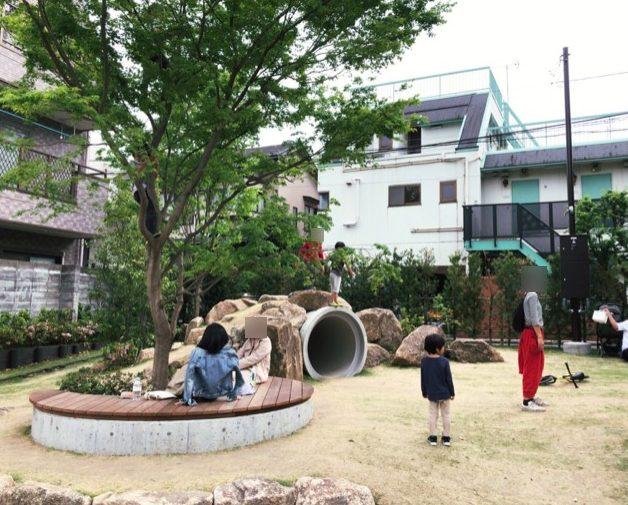 ボーナストラック(BONUS TRACK)下北沢の公園