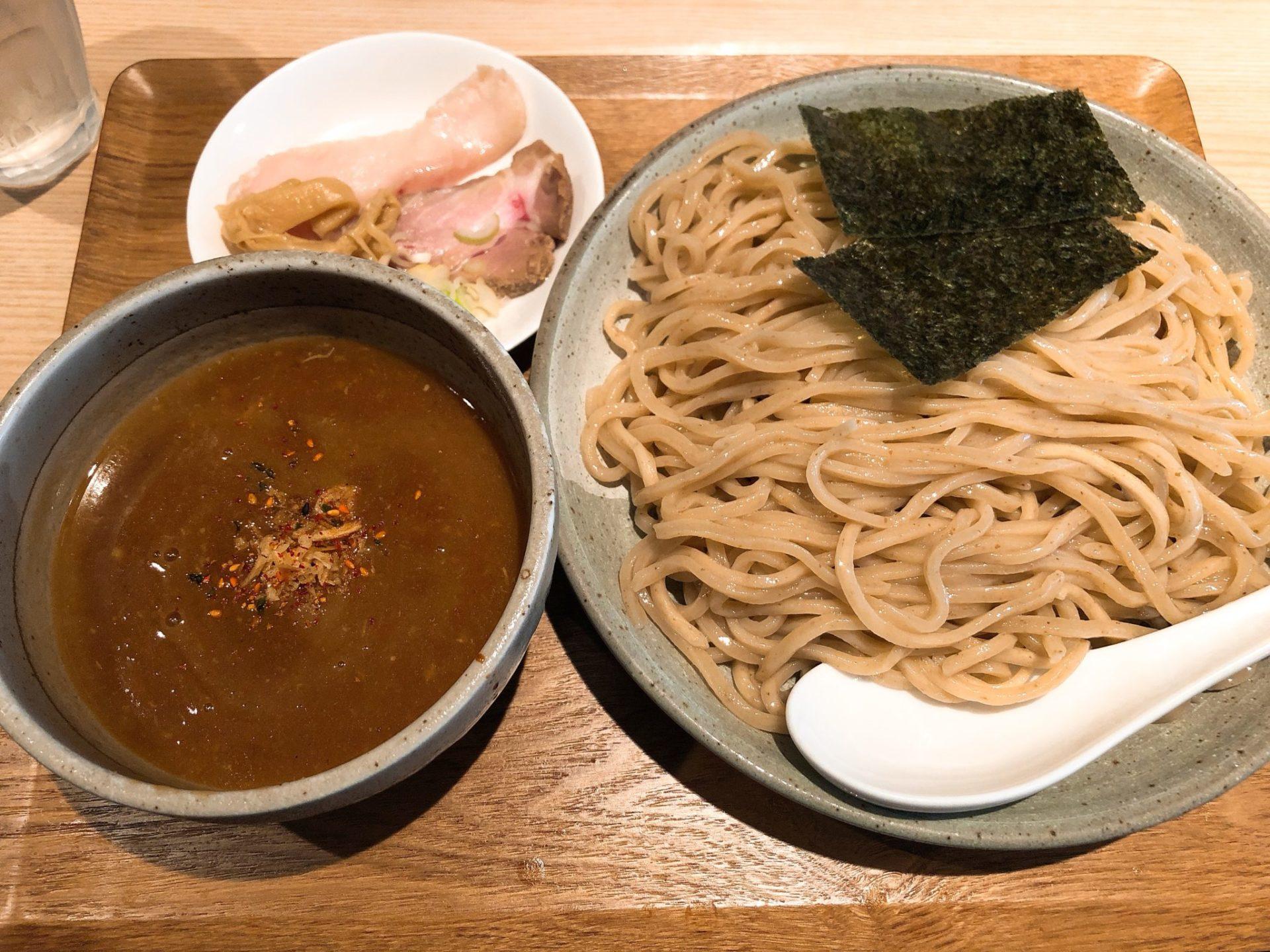 ボノボ 梅ヶ丘の渡り蟹のつけ麺