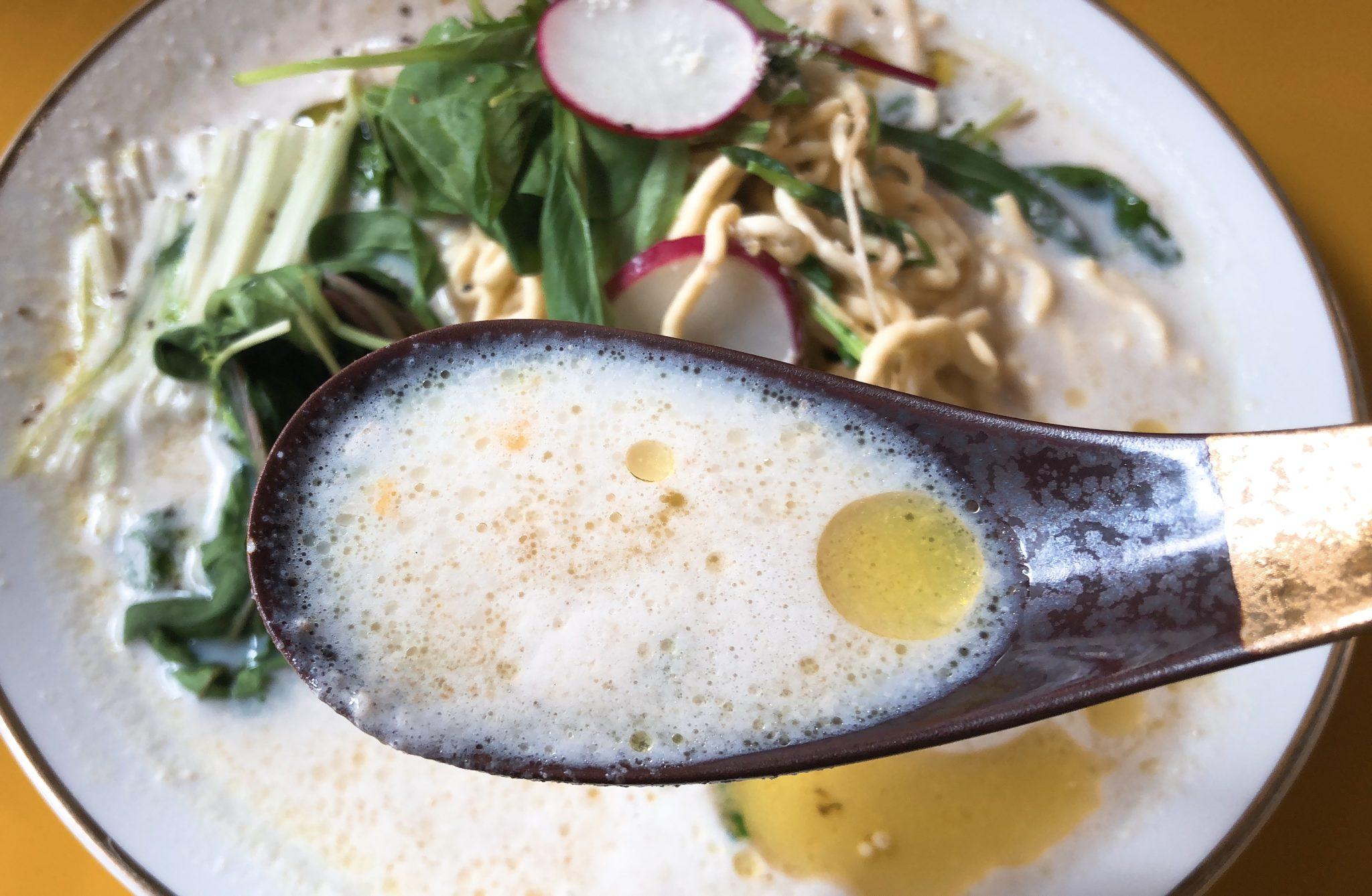 ギャビーセタガヤ上町のSoyパスタのスープ