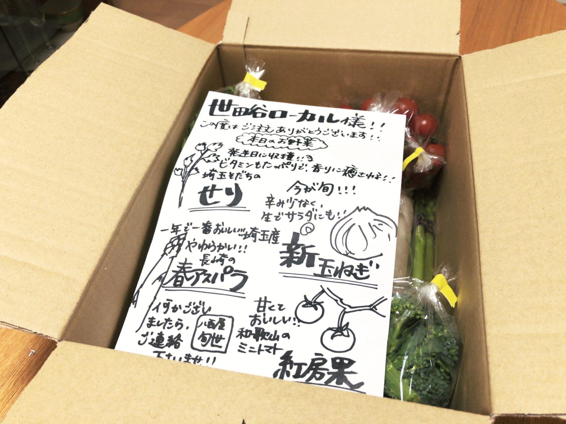 九百屋の宅配野菜