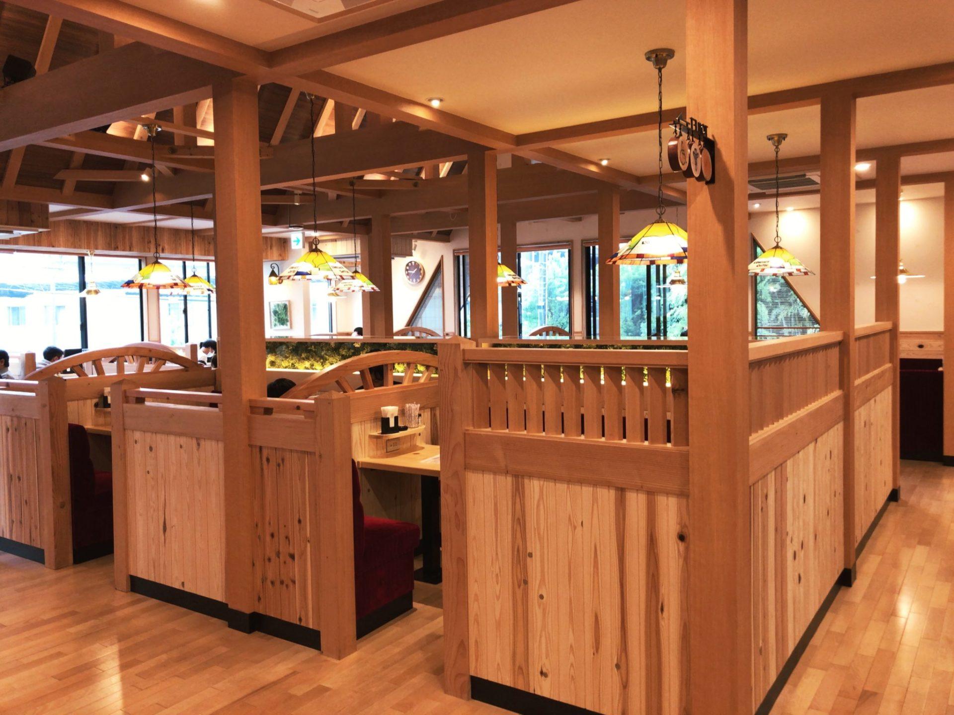 コメダ珈琲店 駒沢公園前店の店内の様子