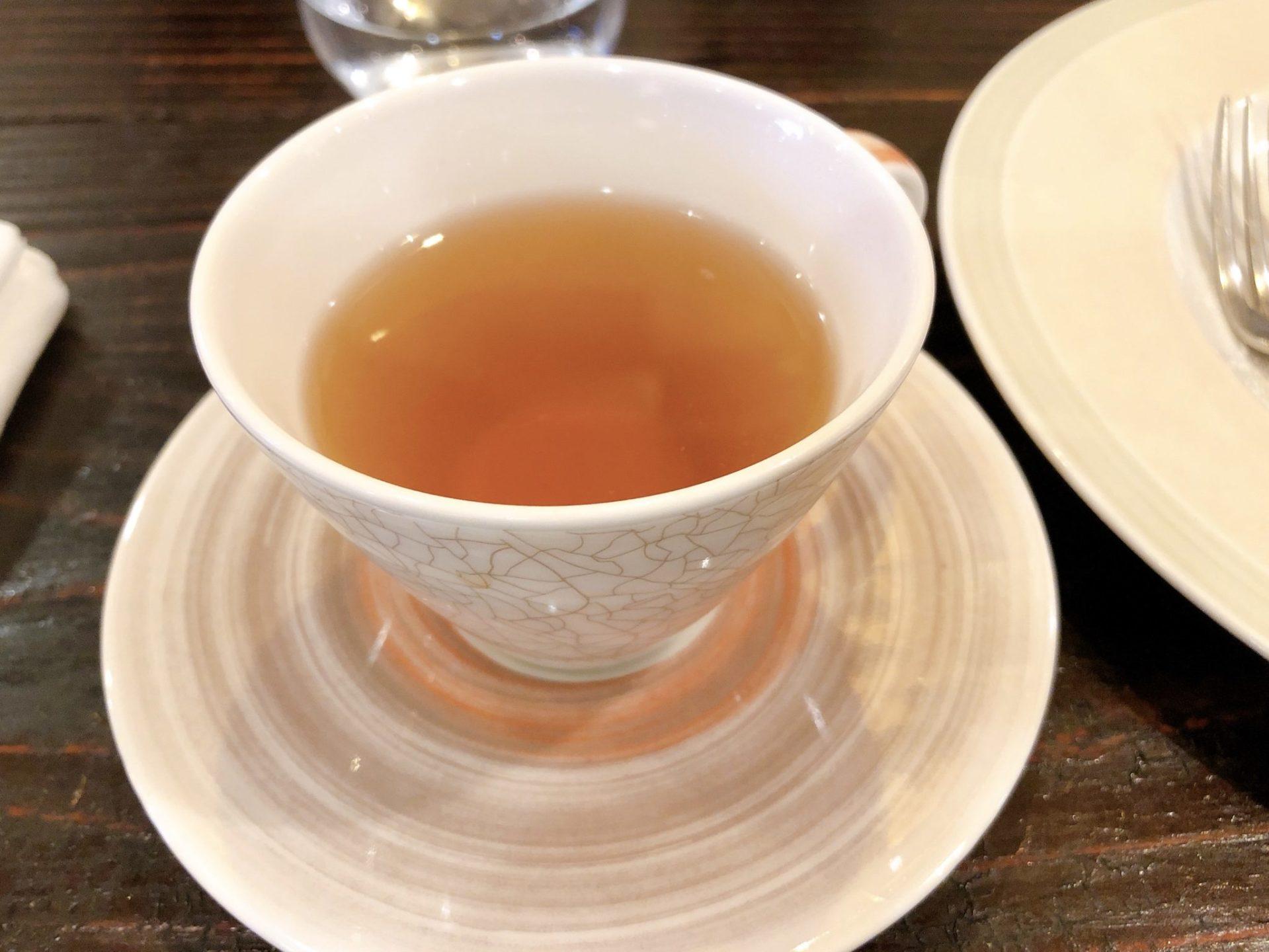 ズッペリア オステリア ピティリアーノ 祖師谷の紅茶