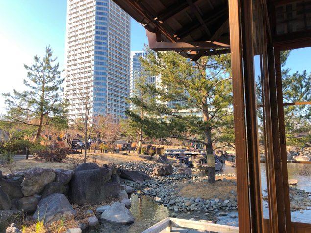 二子玉川公園 帰心園「旧清水邸書院」という近代和風建築を移築した日本家屋