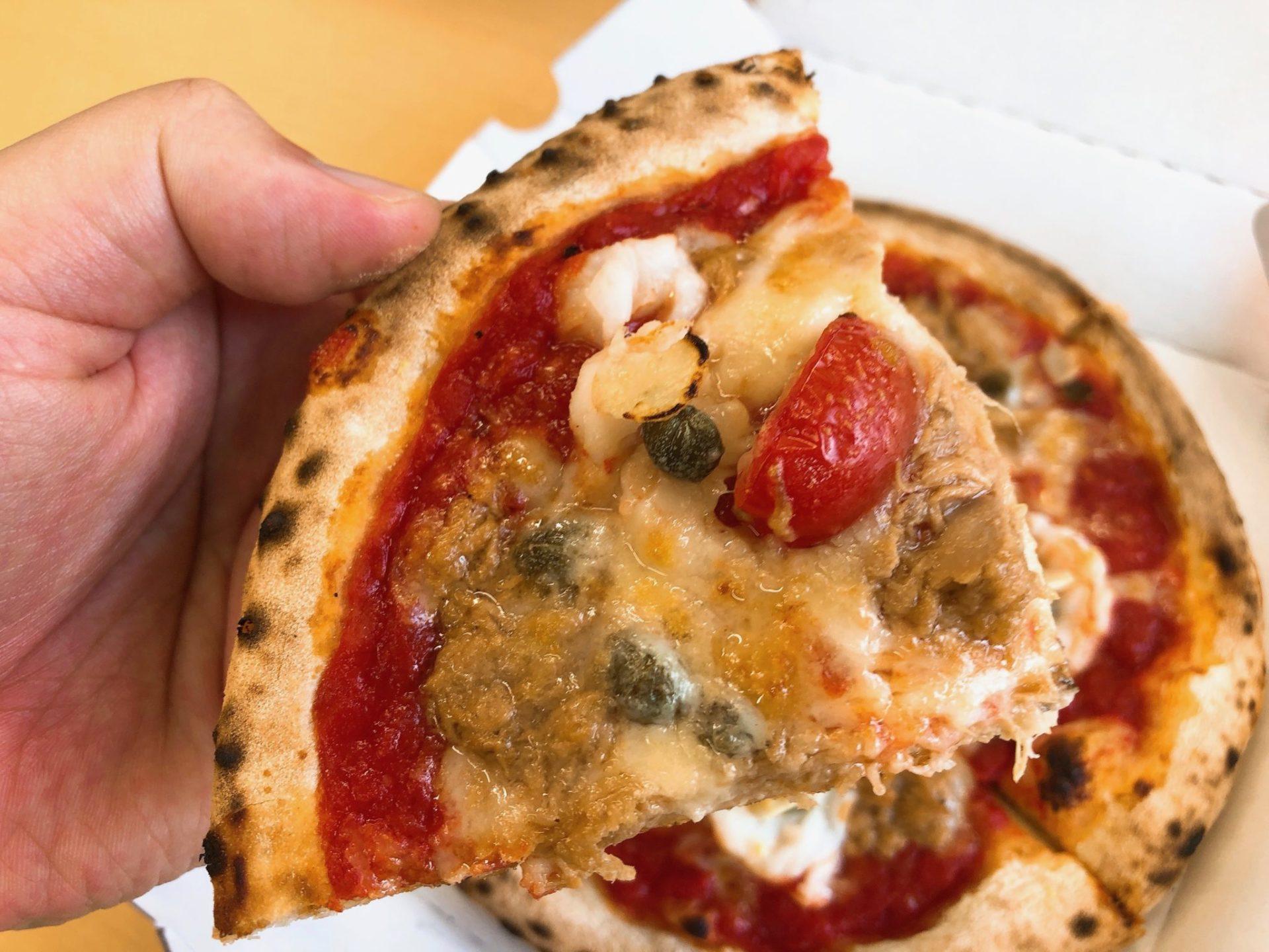 ピザスタンドPoco 世田谷1丁目店のシーフードピザ