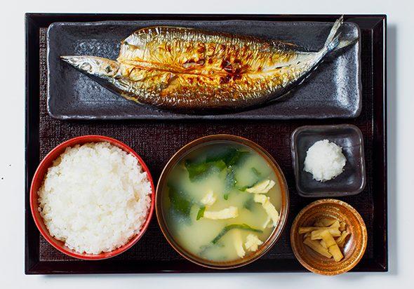 しんぱち食堂 渋谷店 焼き魚定食