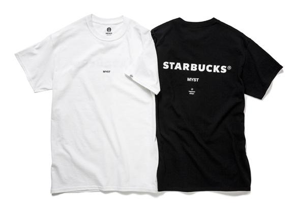スターバックスコーヒー MIYASHITA PARK店の限定商品 Tシャツほか