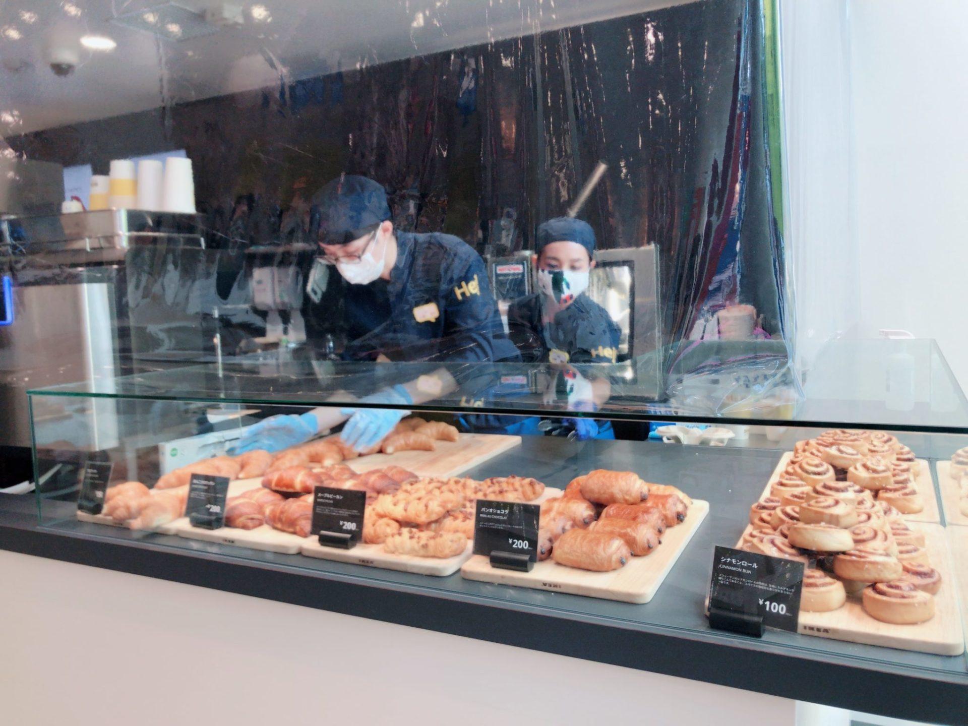 イケア原宿のスウェーデンコンビニのパン