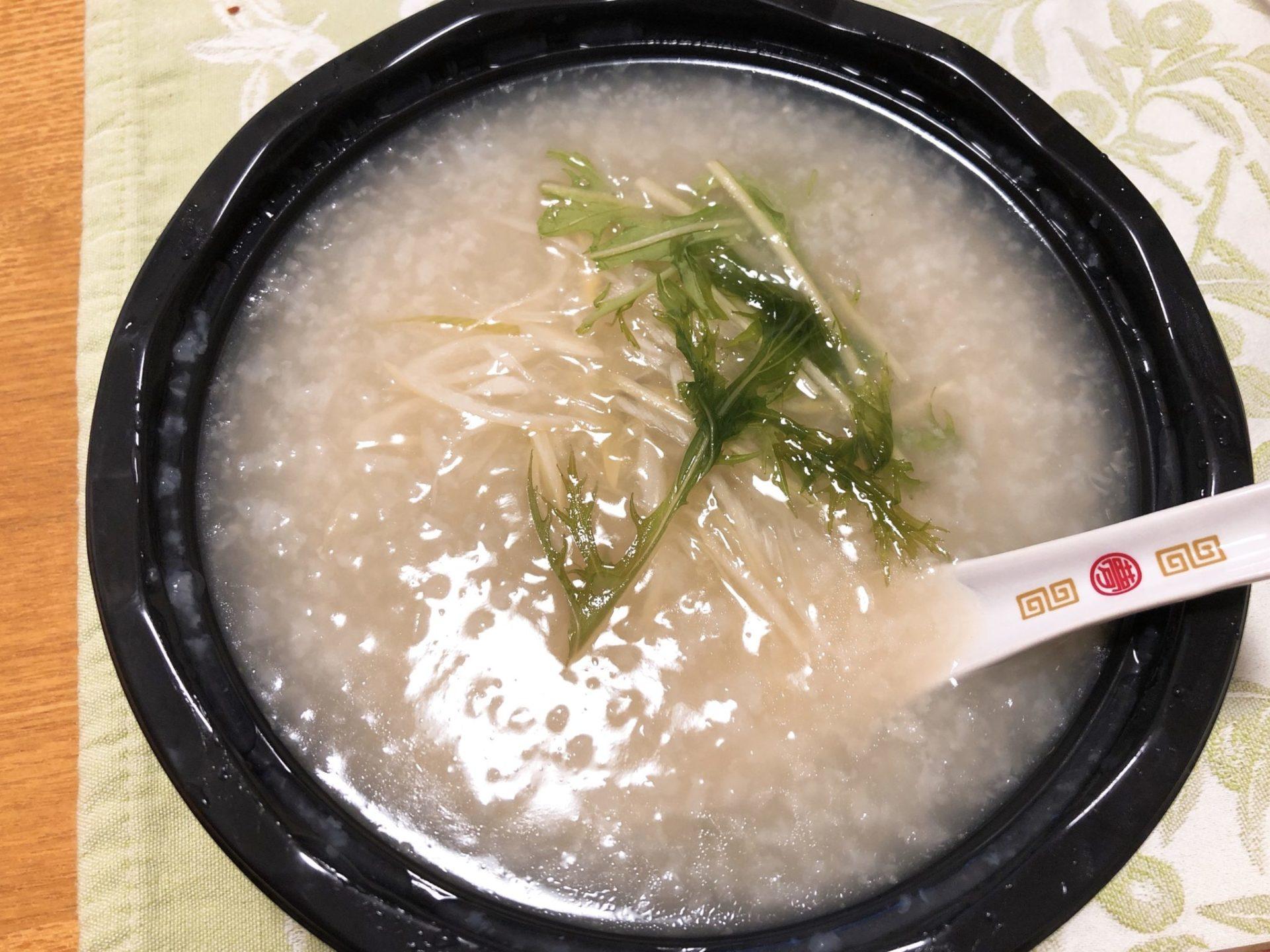青山シャンウェイ ミヤシタパーク店の中華粥