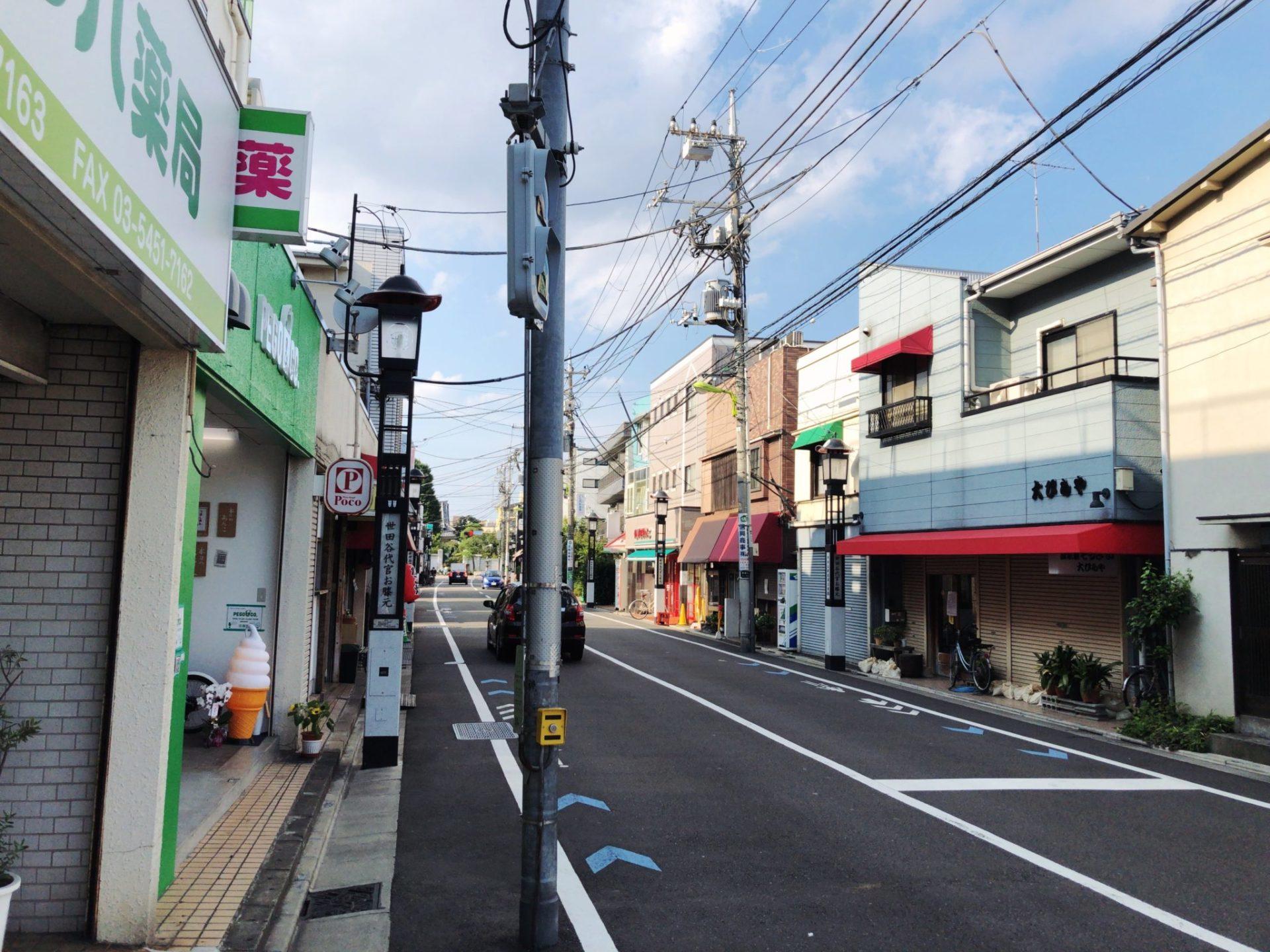 PEGO&CO.(ぺごあんこ)世田谷店は駒沢公園通り沿い