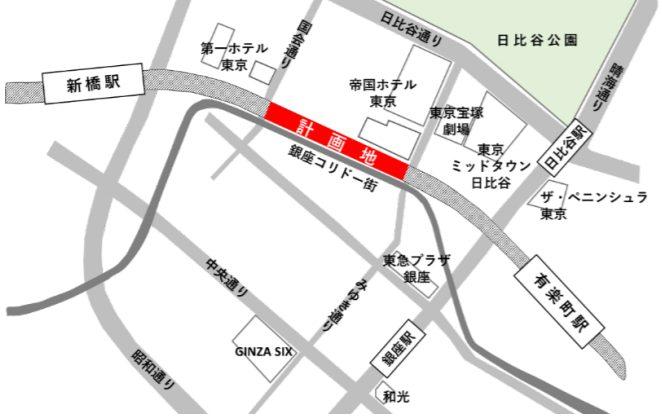 日比谷OKUROJI(ヒビヤオクロジ)のアクセス