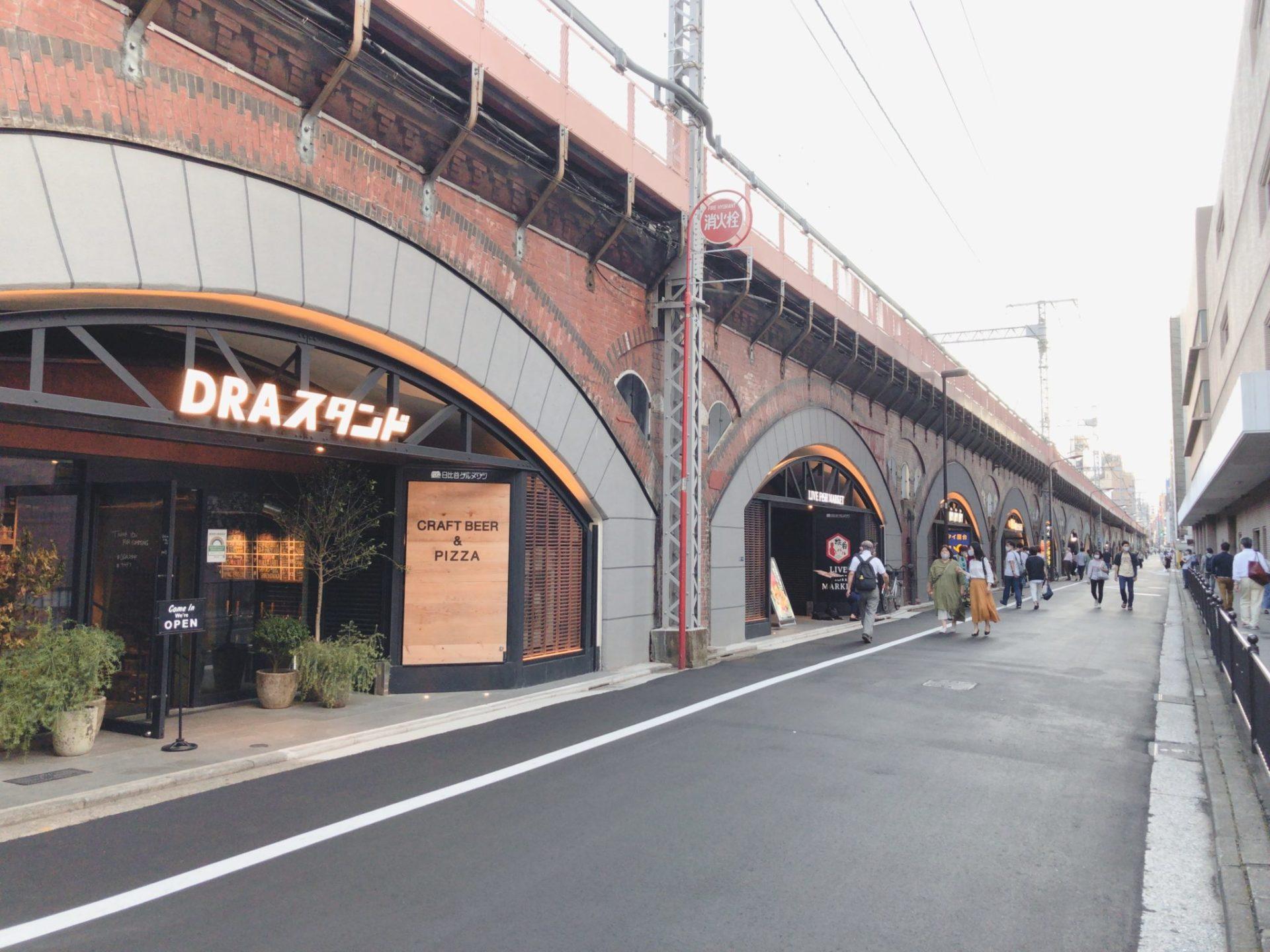 日比谷OKUROJI(ヒビヤオクロジ)の外観