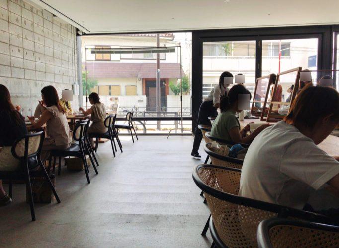 小川珈琲ラボラトリー桜新町の店内の様子