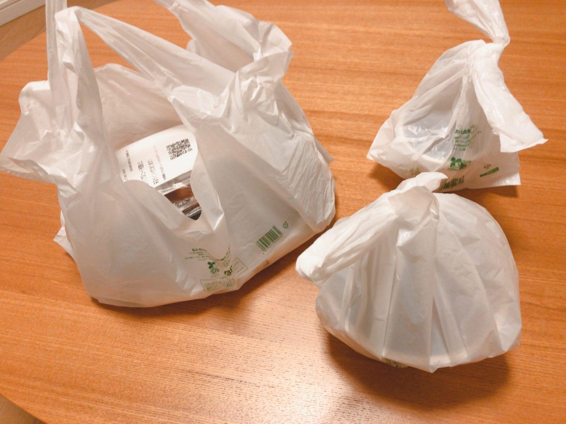 牛角 デリバリーの梱包