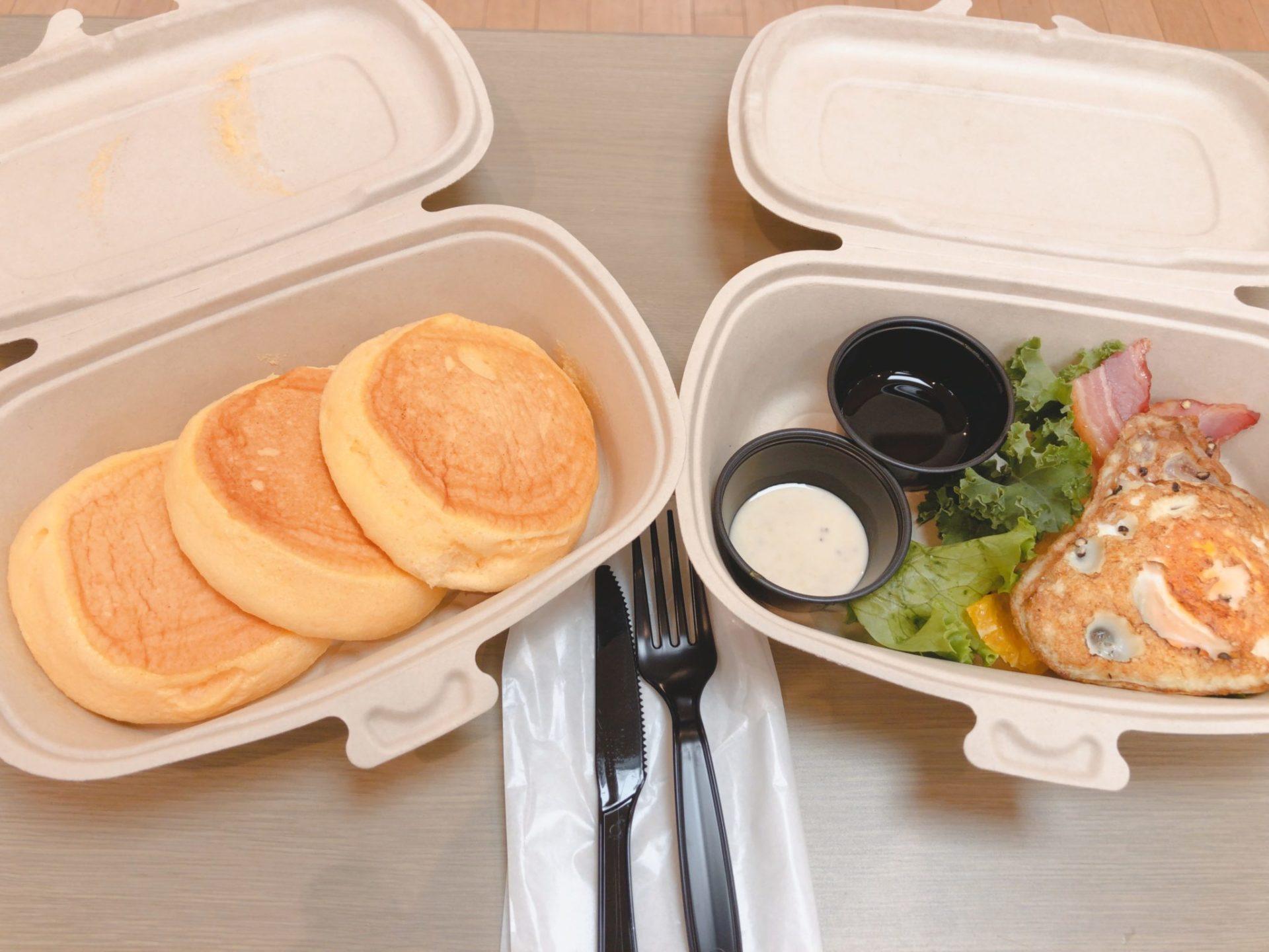 FLIPPER'S下北沢店のパンケーキ