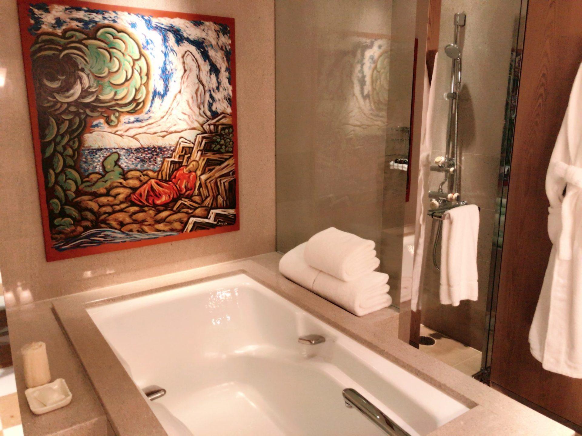 パークハイアット東京のお風呂