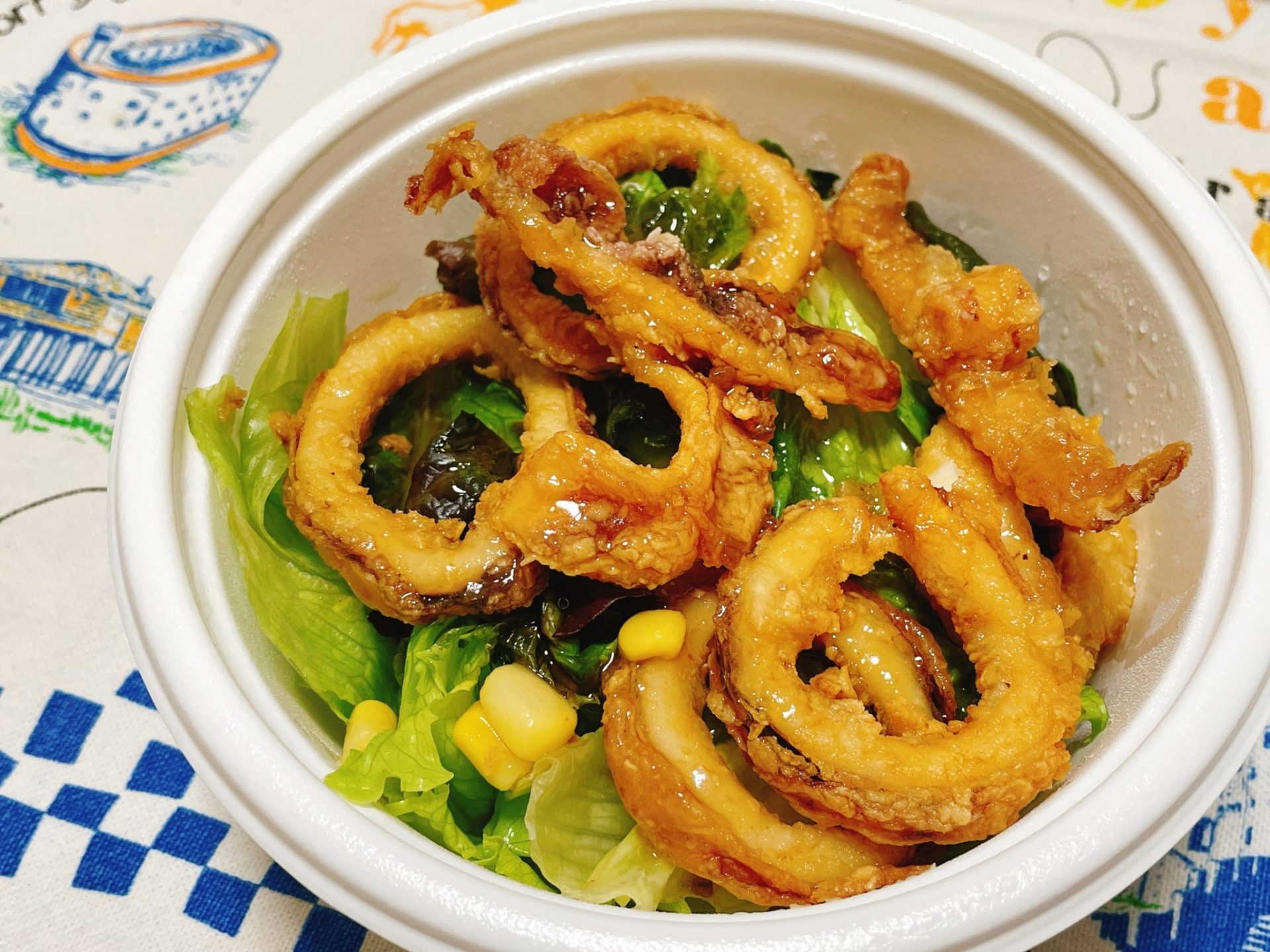 CoCo壱番屋(ココイチ)のサラダ