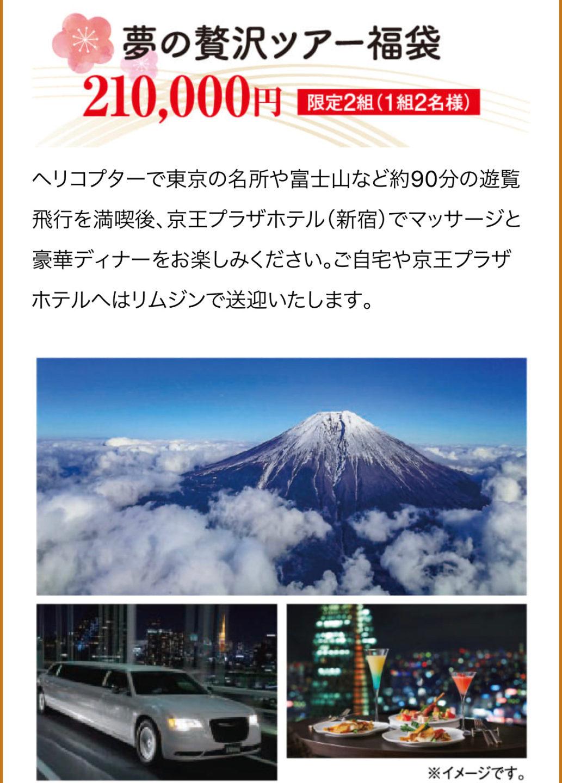 京王百貨店 新宿の福袋情報