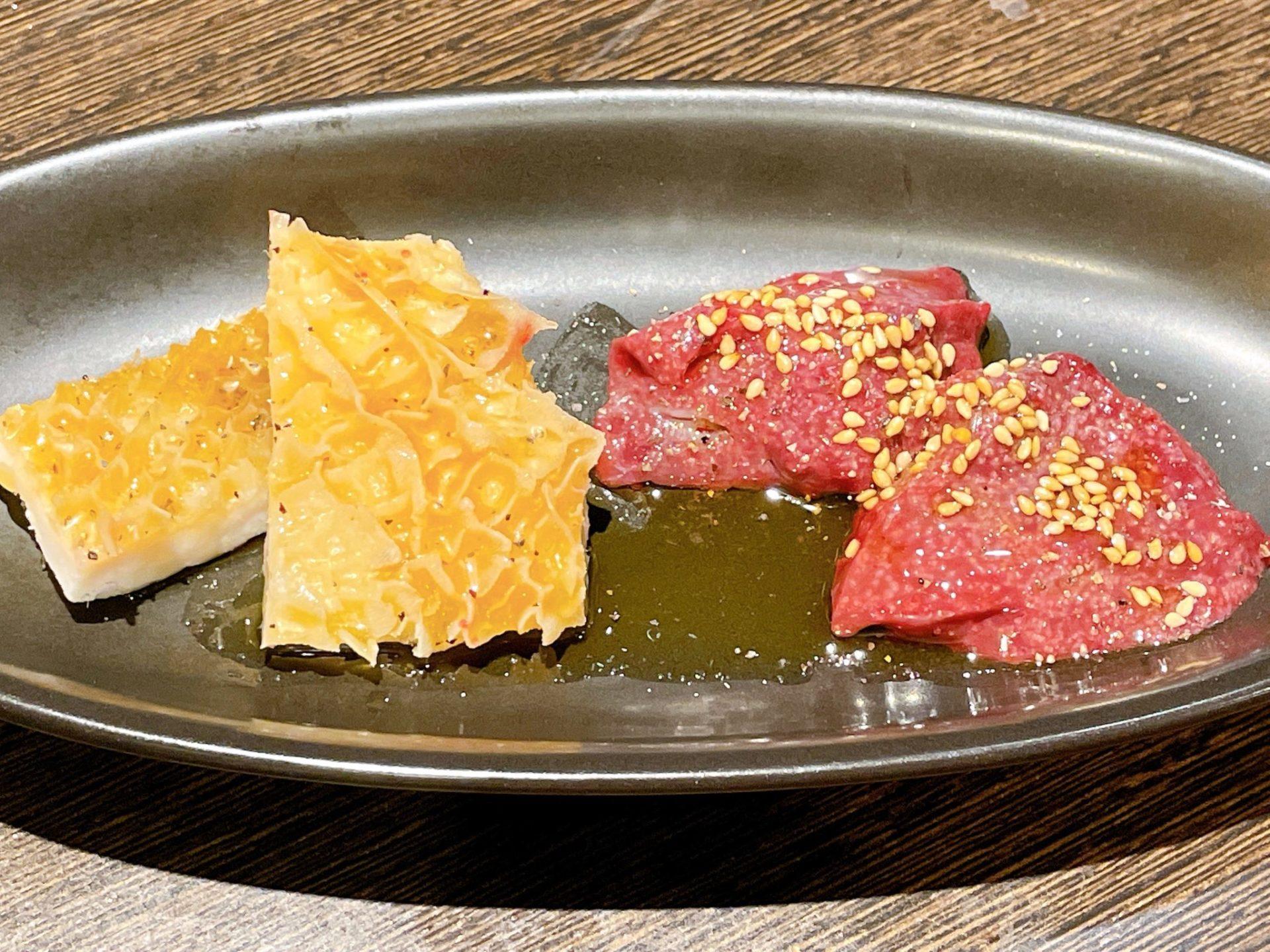 焼肉芝浦 駒沢本店のホルモン